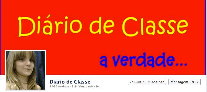 Criou uma fanpage - Diário De Classe - para contar os problemas da escola dela 2