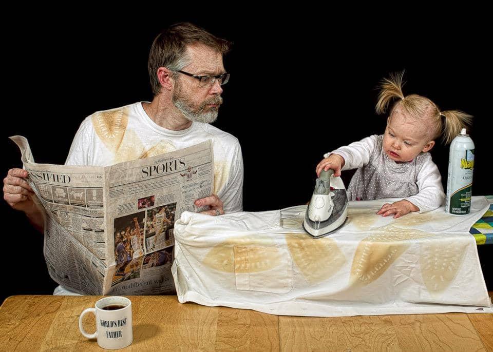 O melhor pai do mundo em fotos hilárias e encantadoras 24