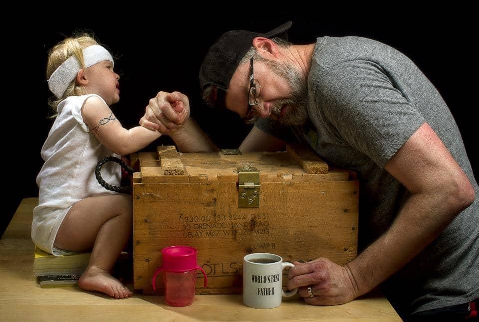 O melhor pai do mundo em fotos hilárias e encantadoras 30