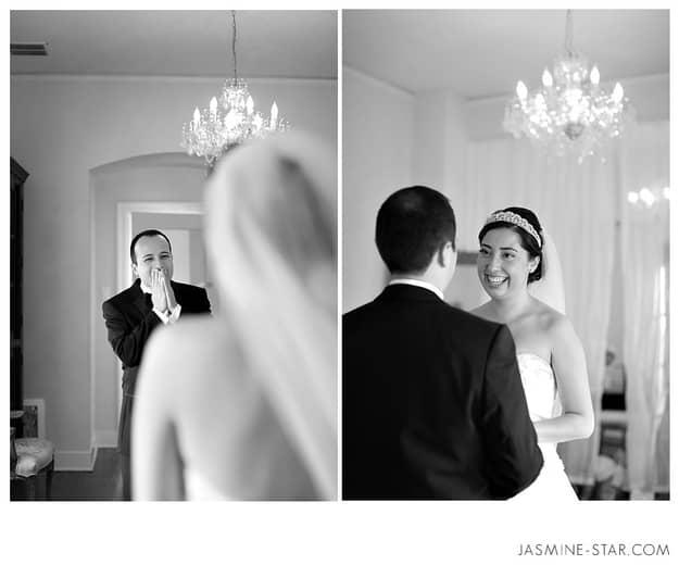 Homem também chora: 24 noivos emocionados ao verem suas noivas 16