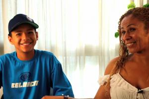Edilene é faxineira, mãe, chefe de família e educou seu filho melhor que o de suas patroas 5