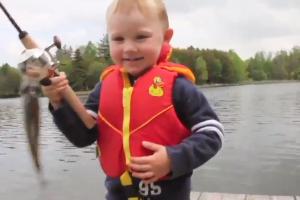 Lições para a vida de uma criança ensinadas na pescaria 1