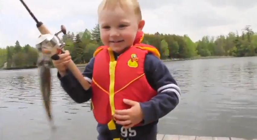 Lições para a vida de uma criança ensinadas na pescaria 2