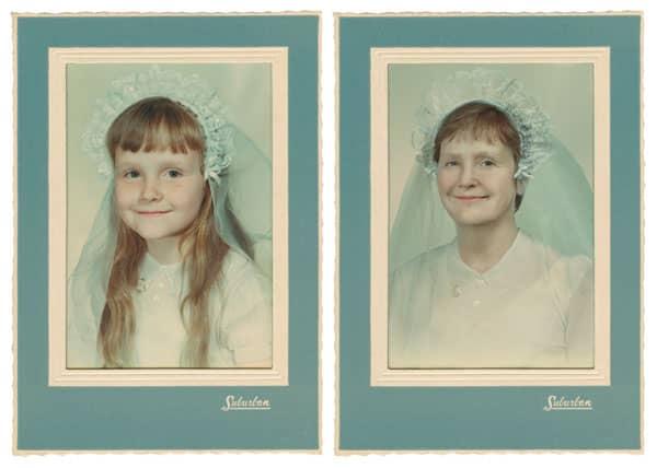 Fotógrafa recria fotos as mesmas fotos de crianças agora como adultos 5