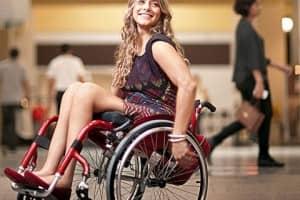 Atriz paraplégica dá lição de superação 1