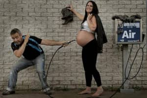 Com criatividade, casal 'explica' de onde vêm os bebês 5