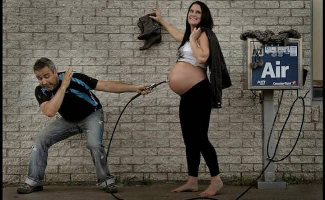 Com criatividade, casal 'explica' de onde vêm os bebês 10
