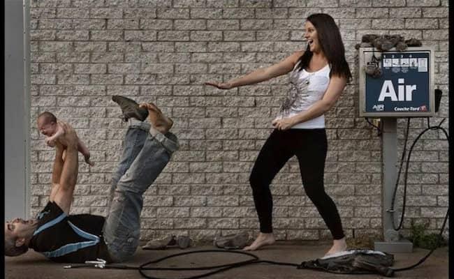 Com criatividade, casal 'explica' de onde vêm os bebês 8