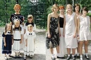 4 irmãs reconstroem fotos de sua infância 2