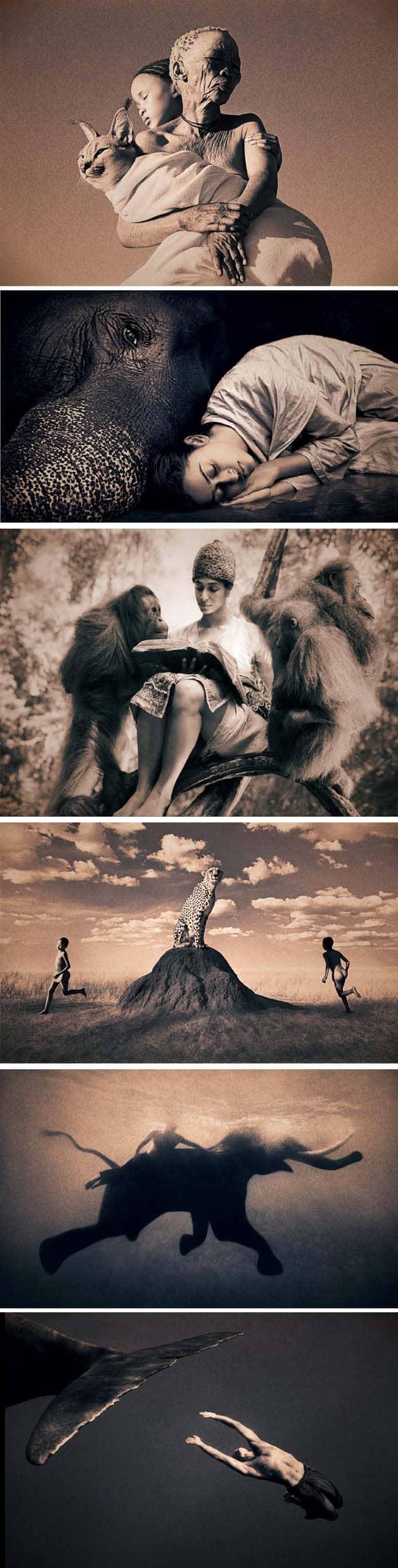 Fotógrafo registra momentos de harmonia entre homem e natureza 5