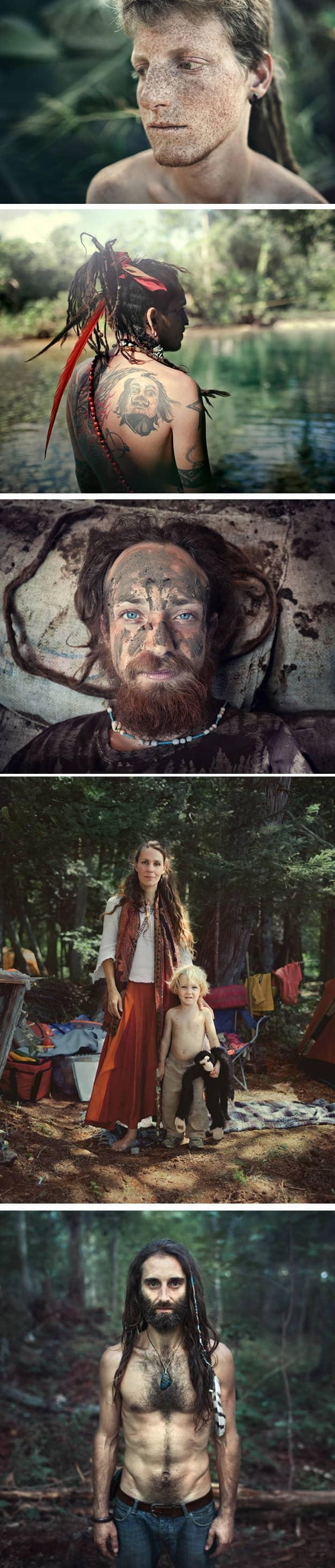 Fotógrafo retrata realidade secreta de grupo nômade com leis baseadas no amor 2