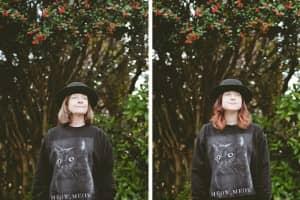 Série fotográfica sobre mães e filhas que emprestam roupas uma pra outra 1