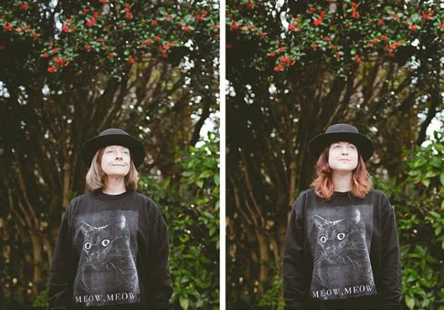 Série fotográfica sobre mães e filhas que emprestam roupas uma pra outra 12
