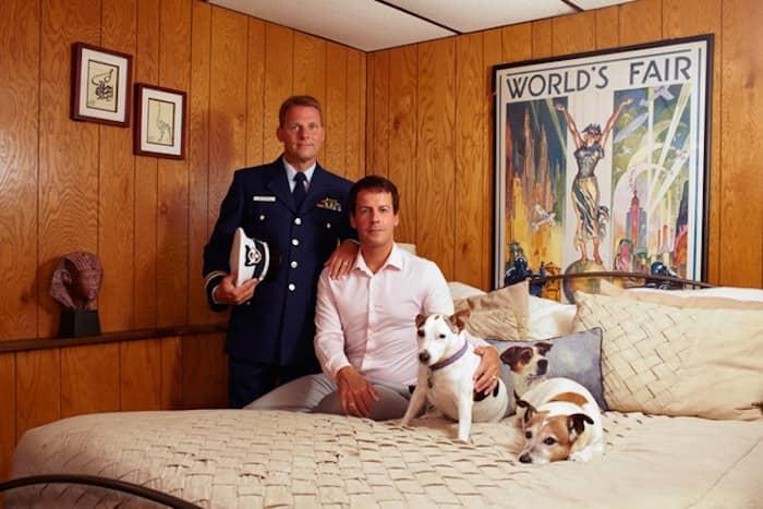 Gay Warriors: Soldados americanos homossexuais com seus parceiros 7