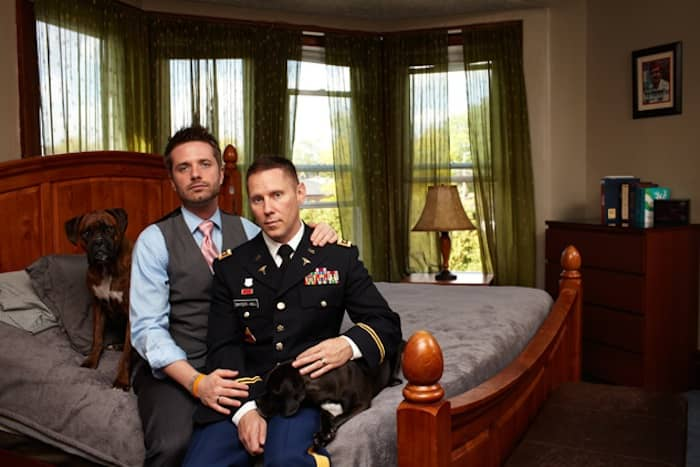 Gay Warriors: Soldados americanos homossexuais com seus parceiros 9