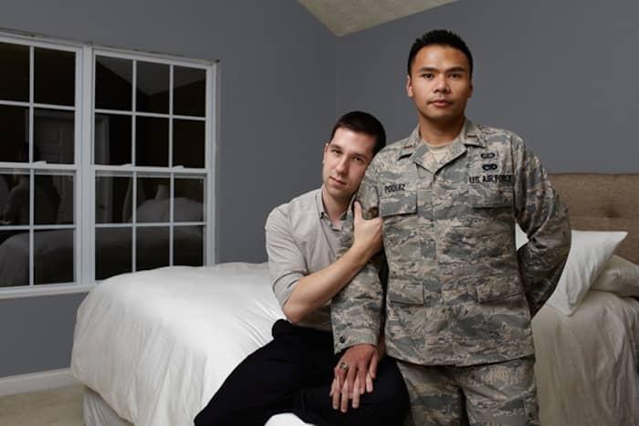 Gay Warriors: Soldados americanos homossexuais com seus parceiros 10