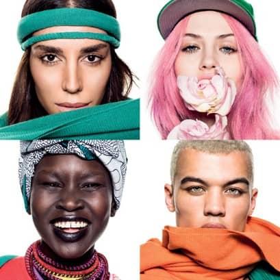 Lea T é uma das novas garotas-propaganda da Benetton 4