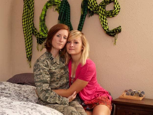 Gay Warriors: Soldados americanos homossexuais com seus parceiros 12