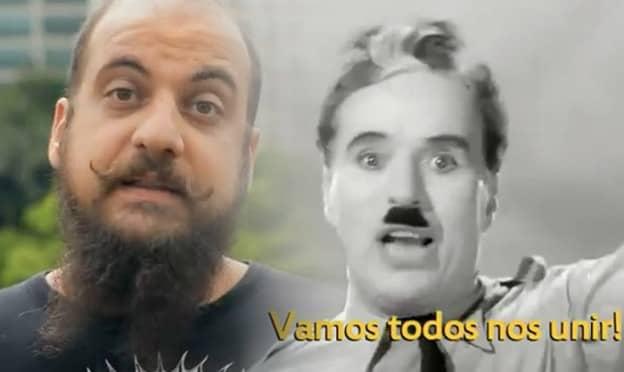 """Pessoas comuns reinterpretam discurso de Charles Chaplin do filme """"O Grande Ditador"""" 2"""