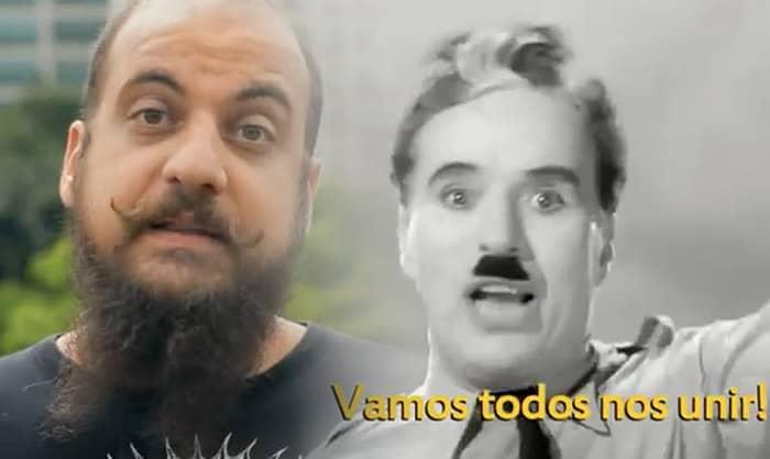 """Pessoas comuns reinterpretam discurso de Charles Chaplin do filme """"O Grande Ditador"""" 10"""