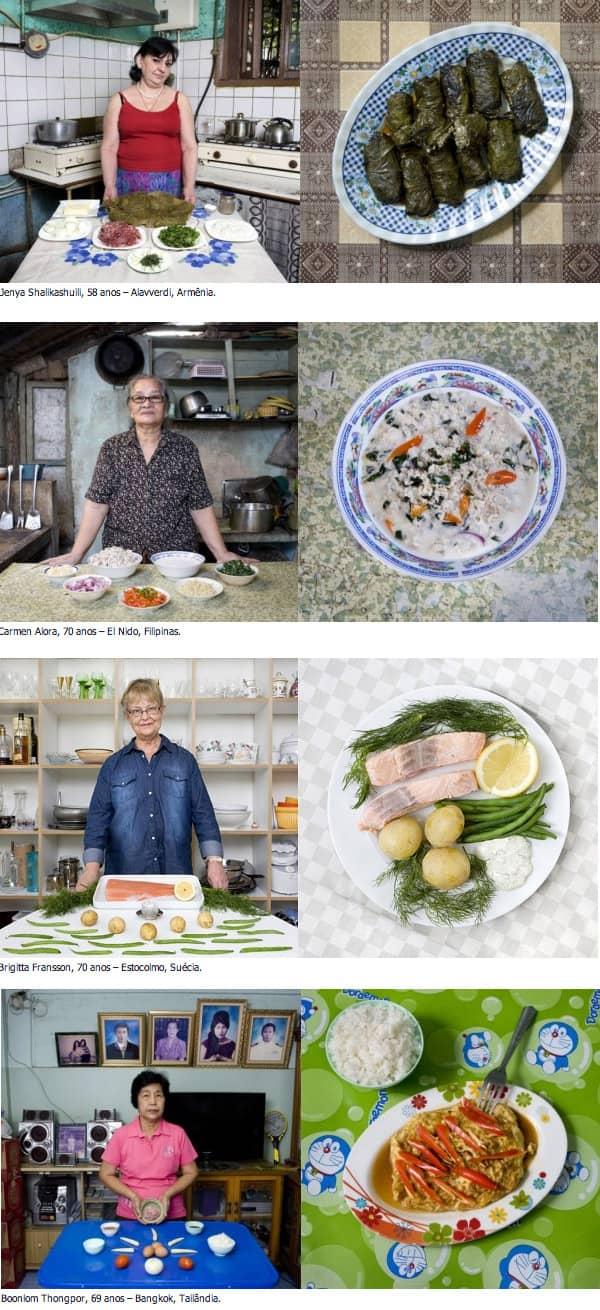 Conheçam avós e suas comidas caseiras ao redor do mundo 4