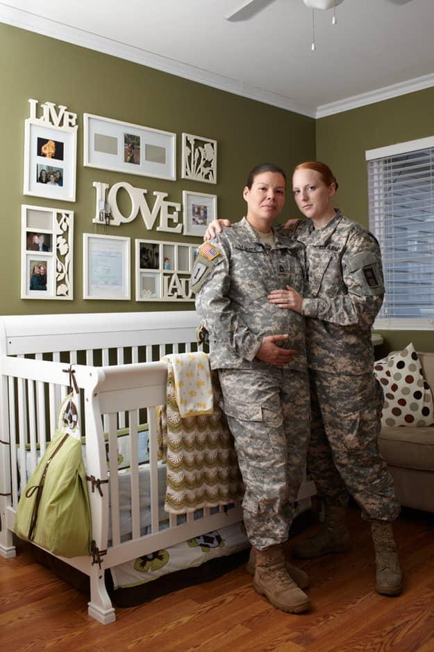 Gay Warriors: Soldados americanos homossexuais com seus parceiros 2