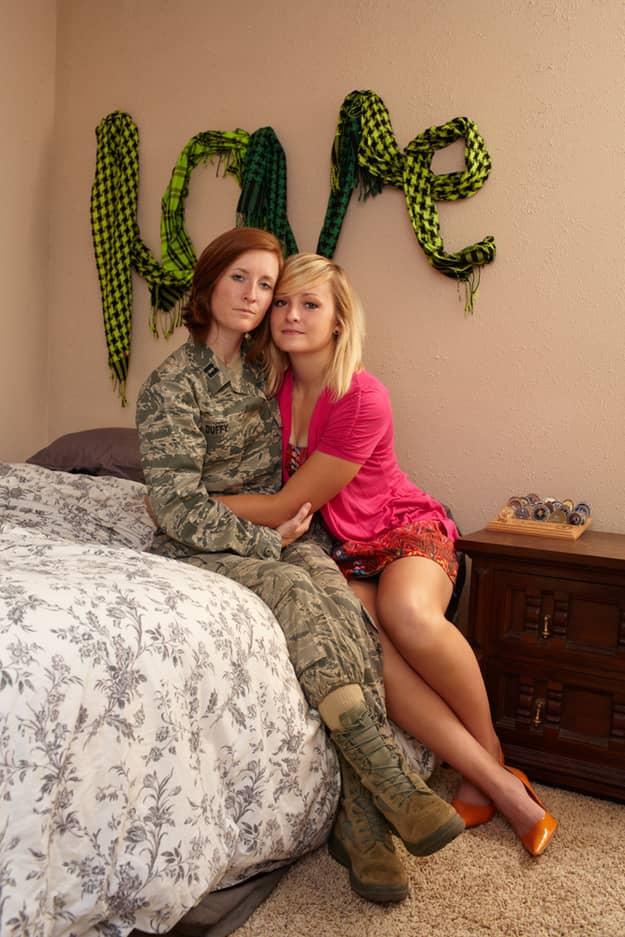 Gay Warriors: Soldados americanos homossexuais com seus parceiros 4