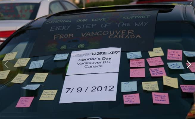 Pai realiza último desejo de filho ao reunir mais de 1.000 carros em encontro 7