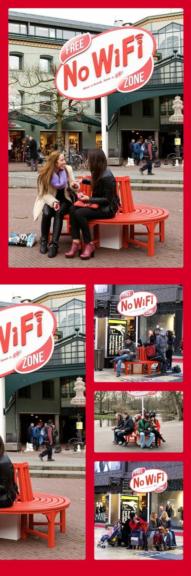 Kit Kat faz ação por uma vida menos on-line e mais off-line 2