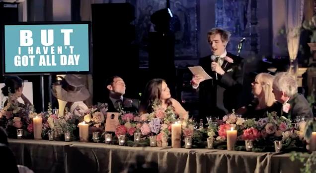 Vocalista do McFly faz discurso de casamento cantado! 4