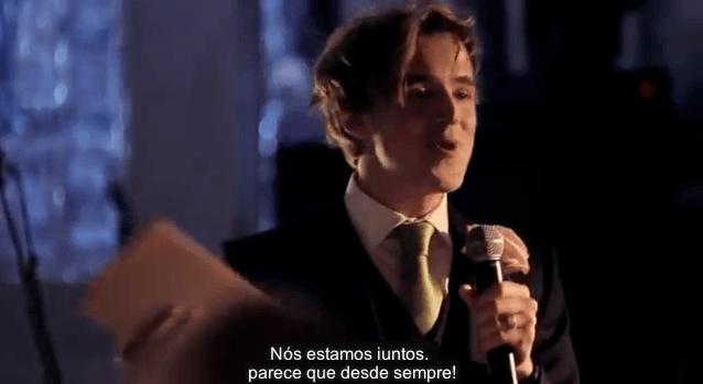 Vocalista do McFly faz discurso de casamento cantado! 9