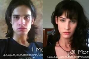 Homem tira fotos durante 3 anos e retrata o processo de transformação em mulher 1