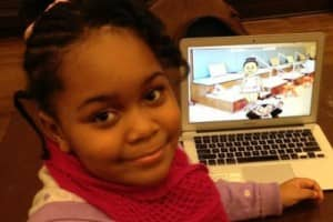 Menina de 7 anos cria aplicativo de game 2