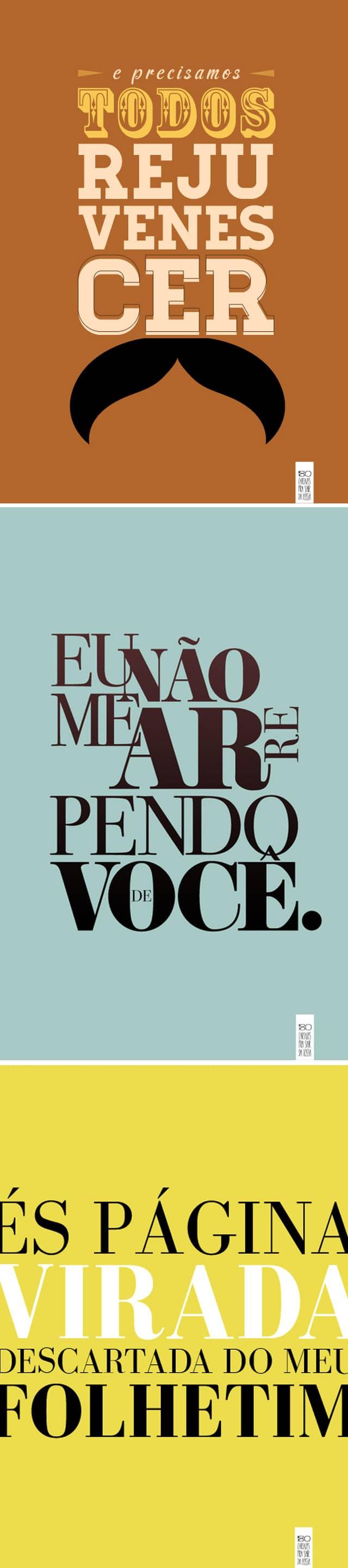 Projeto brasileiro cria 180 cartazes para ajudar as pessoas a sairem da fossa 3