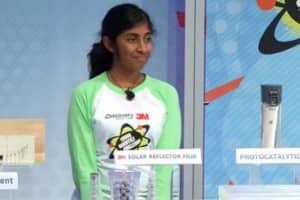 Garota de 14 anos inventa purificador de água revolucionário 2