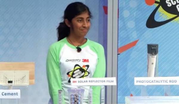 Garota de 14 anos inventa purificador de água revolucionário 5