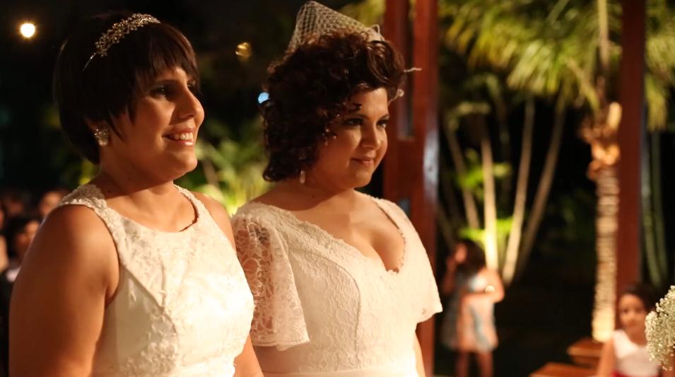 Mesmo com câncer, Fabi não adia o lindo casamento com Mari 3