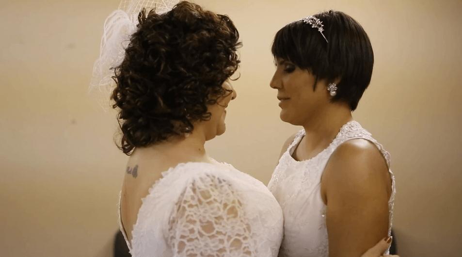 Mesmo com câncer, Fabi não adia o lindo casamento com Mari 4