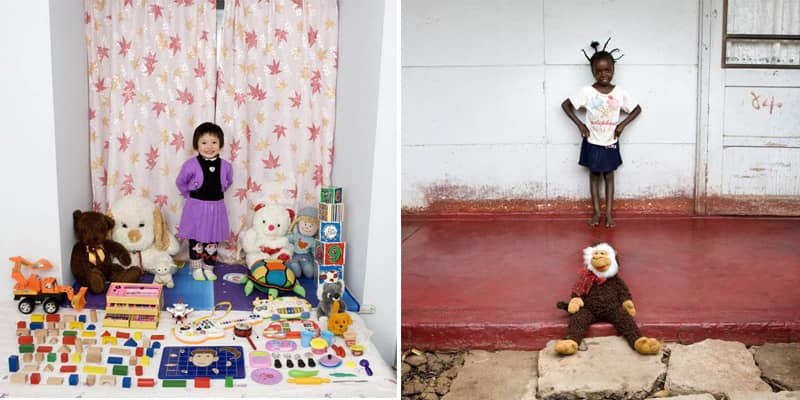 Fotógrafo registra crianças com seus brinquedos ao redor do mundo 2
