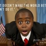 E se uma criança se candidatasse a presidência de um país? 2