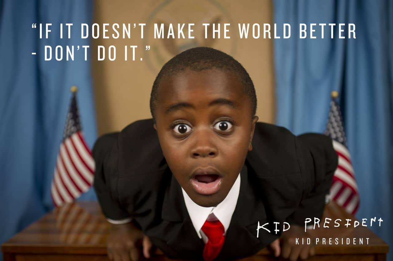 E se uma criança se candidatasse a presidência de um país? 1