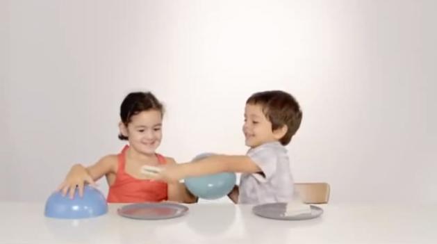 Como crianças reagem a um prato vazio 3