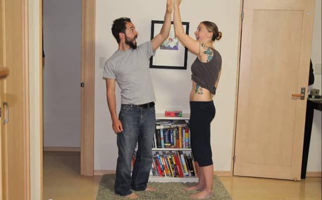 Casal cria vídeo incrível documentando toda a gestação 4