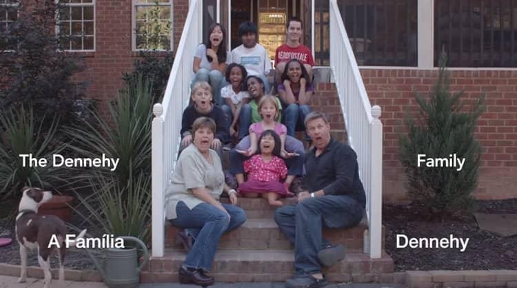 Adotando crianças especiais ao redor do mundo, família encontra sentido de viver 1