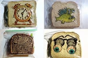 Pai faz uma ilustração por dia nas embalagens de sanduíches dos filhos desde 2008 1