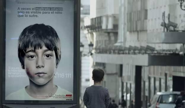 Este anúncio tem uma mensagem antiabuso secreta que só crianças conseguem ver 1