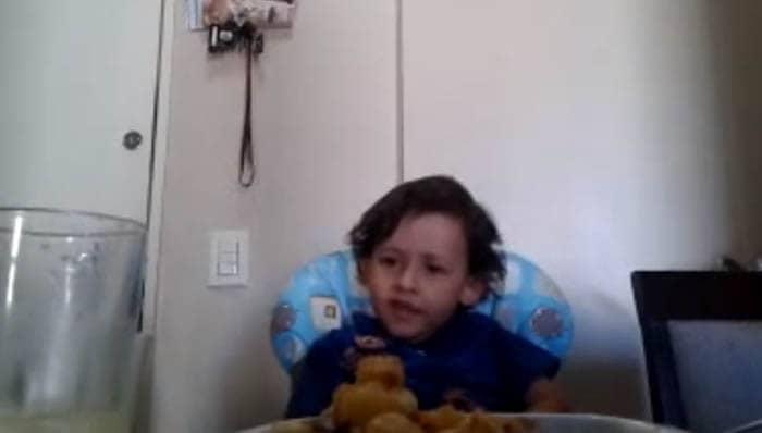 A argumentação de uma criança para não comermos carne 2