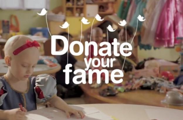 Famosos doam mais de 24 milhões de fãs para crianças do GRAACC 1