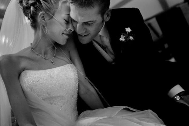 Mesmo doente terminal de câncer, ela casou cinco dias antes de morrer 1