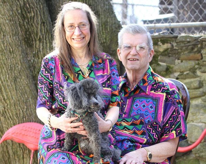 Conheça o casal que combina roupas todos os dias há 32 anos 2